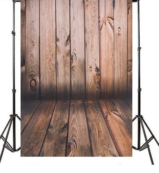 Wooden Pallet Floor Backdrop