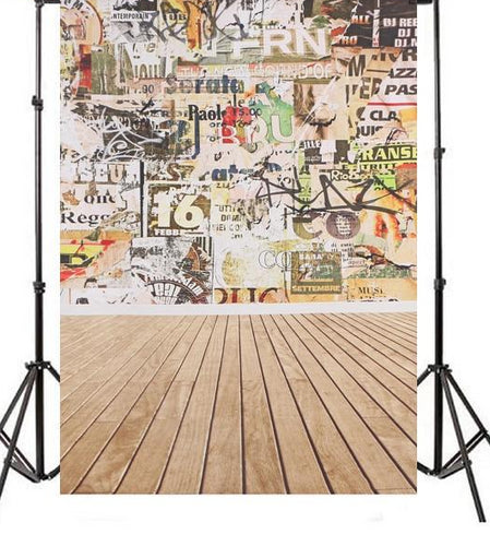 Polyester Graffiti Wall Backdrop-B1-TinyPropShop