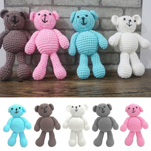 Knit Toy Bear