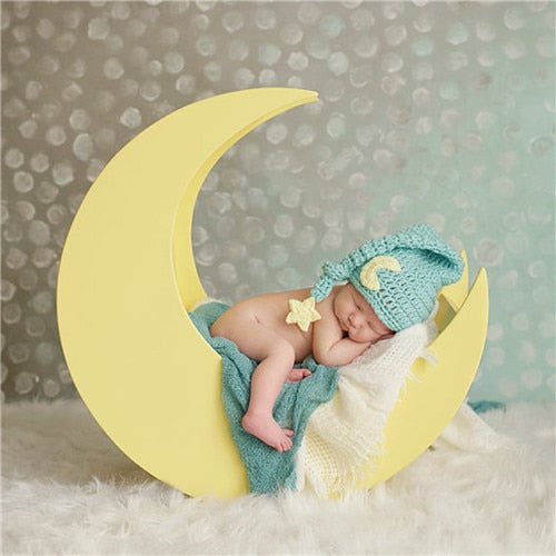 Newborn Knit Long Tail Sleeping Cap