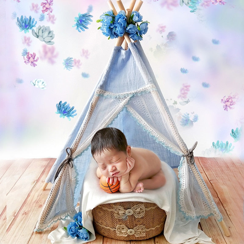 Newborn Photography Prop Lace Tent