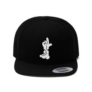 FLAT ESS - DIGIT$ - Unisex Flat Bill Hat