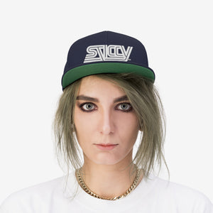 INSIGNIA - STICCY©© Ages - Unisex Flat Bill Hat