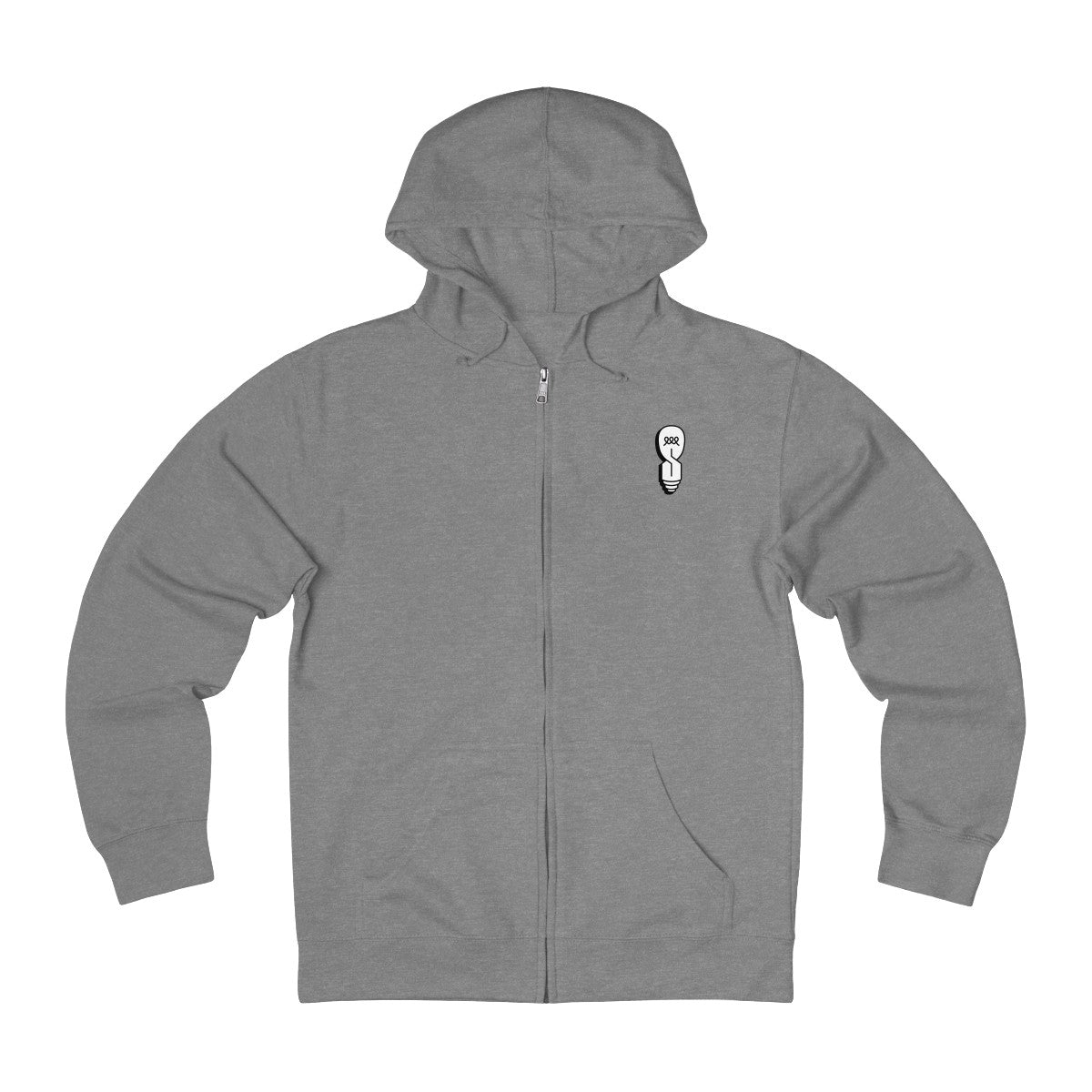 FLAT ESS - Edi$on - Unisex French Terry Zip Hoodie
