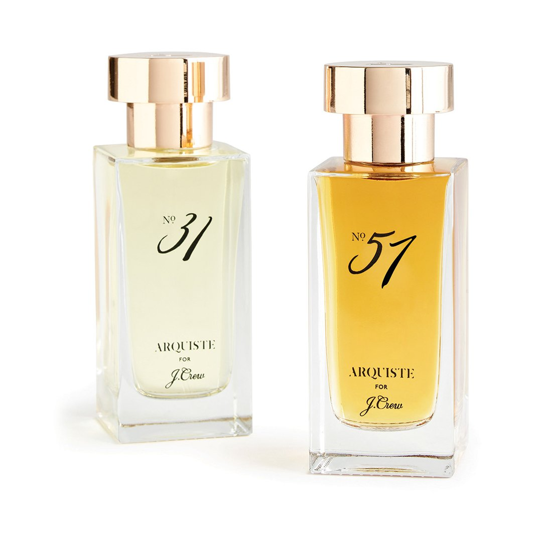 ARQUISTE No.31 scent perfume unisex for J.Crew JCrew No.31 Jenna Lyons fragrance