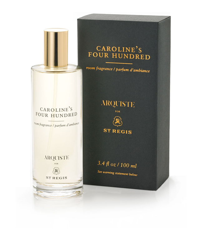 St. Regis Hotels and Resorts Caroline's Four Hundred Signature Scent