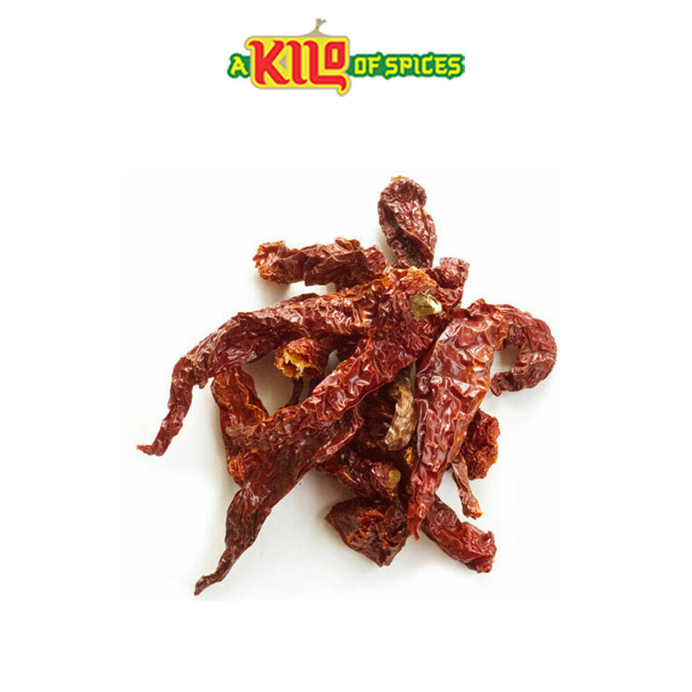 Kashmiri Whole Dried Chillies - A Kilo of Spices