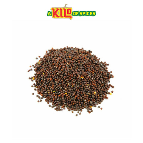 Brown Mustard Seeds - A Kilo of Spices