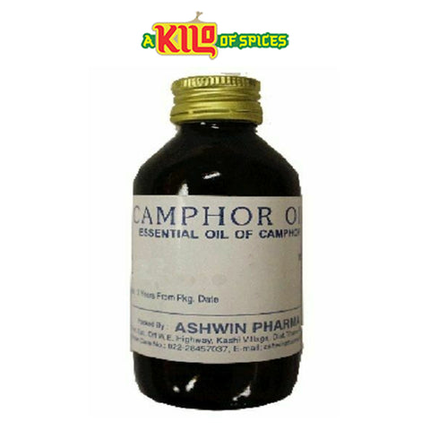 Camphor Oil 100ml - A Kilo of Spices