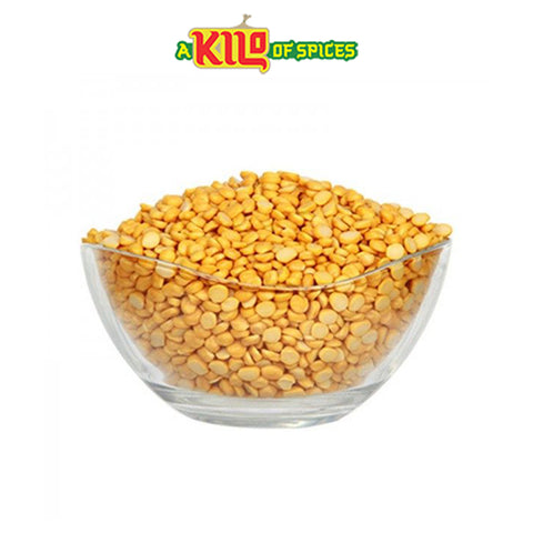 Yellow Split Peas (Chana Dal) - A Kilo of Spices