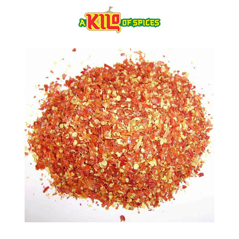 Red Chilli Flakes - A Kilo of Spices