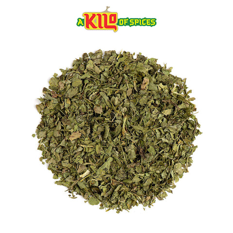 Dried Coriander Leaves (Cilantro Leaves) - A Kilo of Spices
