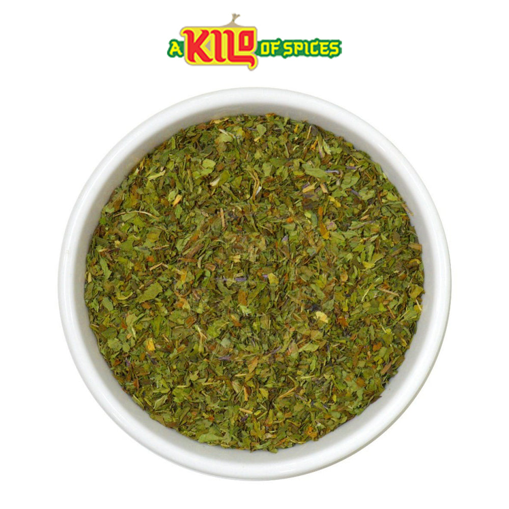Dried Mint Leaves - A Kilo of Spices