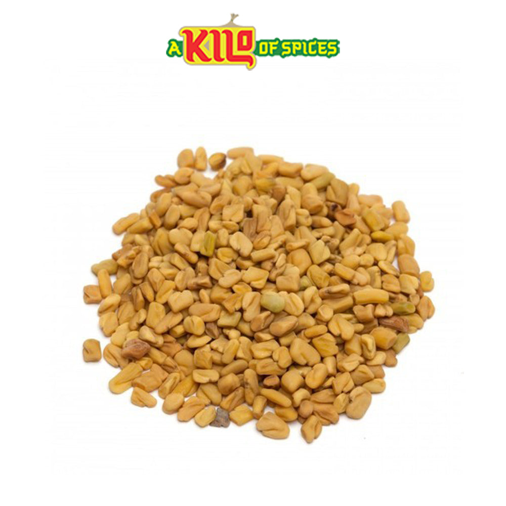 Methi Seeds (Fenugreek Seeds) - A Kilo of Spices
