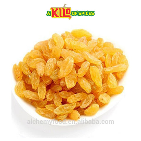 Golden Sultanas - A Kilo of Spices