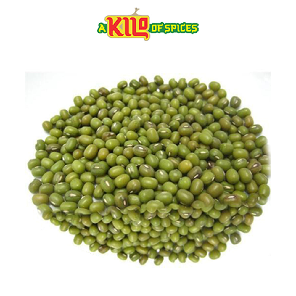 Green Mung Beans Whole (Moong) - A Kilo of Spices