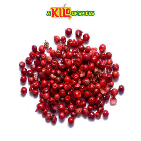 Dried Pink Peppercorns Whole - A Kilo of Spices