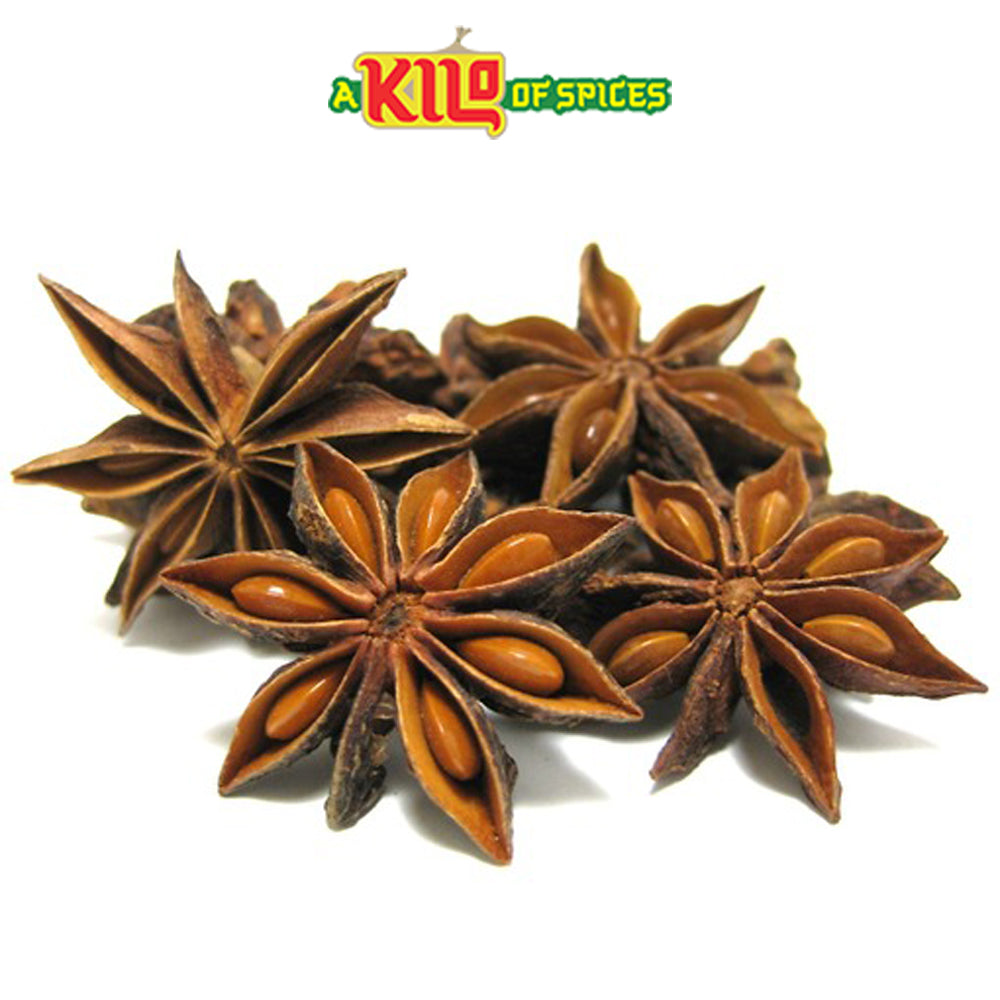 Star Anise Aniseed (Badia) - A Kilo of Spices