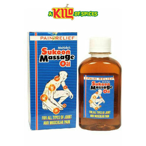 Sukoon Massage Oil 100ml - A Kilo of Spices