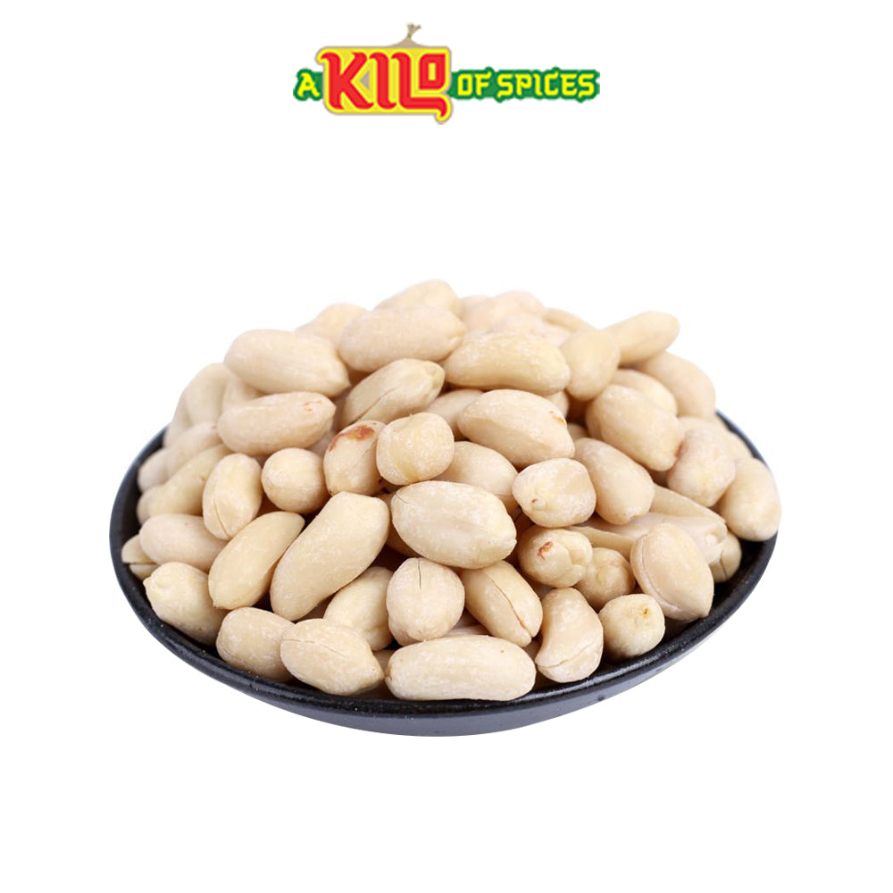 White Blanched Peanuts - A Kilo of Spices