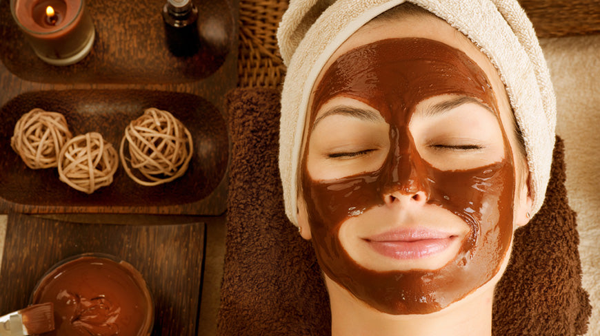 How to make a chocolate facial mask?