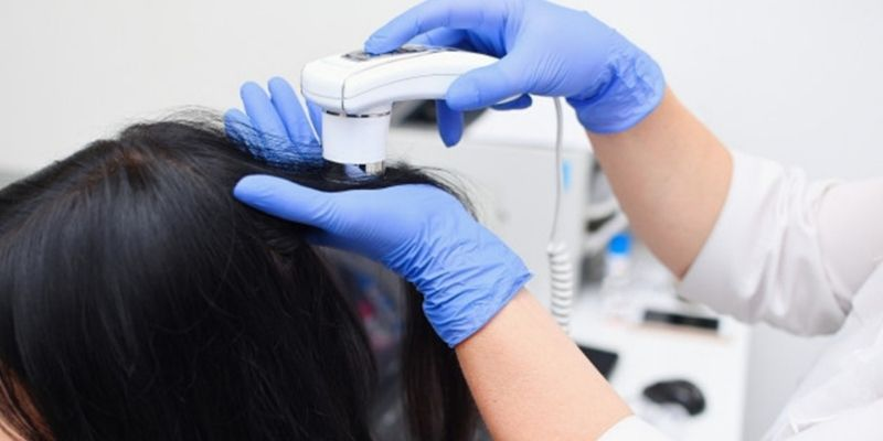 hair loss treatment - hair diagnosis
