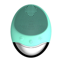 Load image into Gallery viewer, Electric Silicone Facial Cleansing Brush