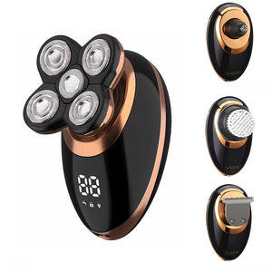 5 In 1 Electric Head Shaver