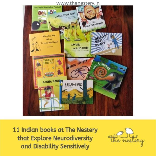 11 Indian books at The Nestery that Explore Neurodiversity and Disability Sensitively