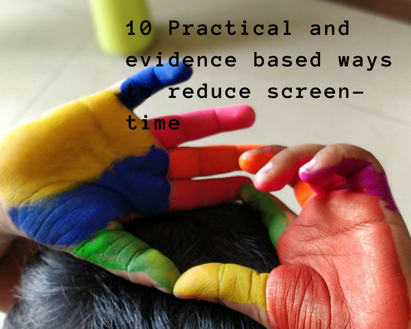 Screen-time: Science backed ways to reduce it