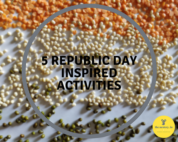 Republic Day Inspired Activities for Toddlers/Preschoolers