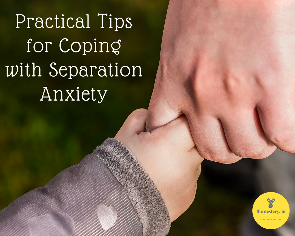 An Indian Parent's Practical Coping Techniques for Separation Anxiety