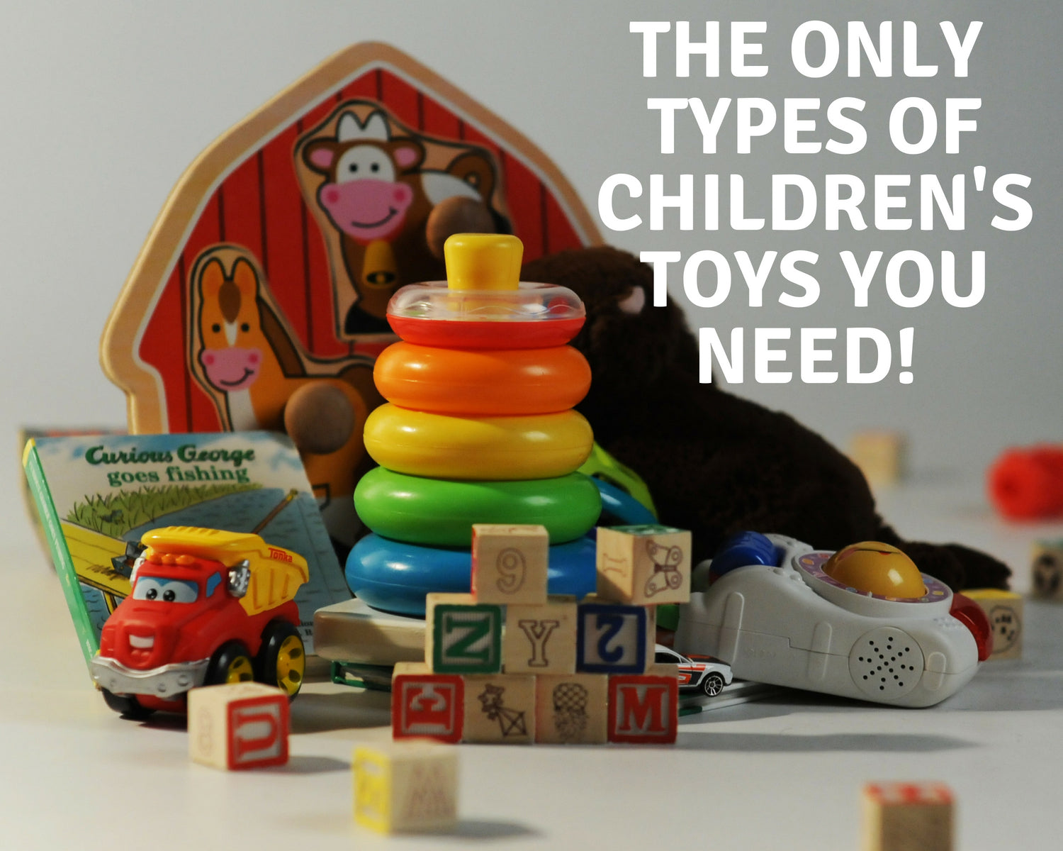Which types of toys should I buy?