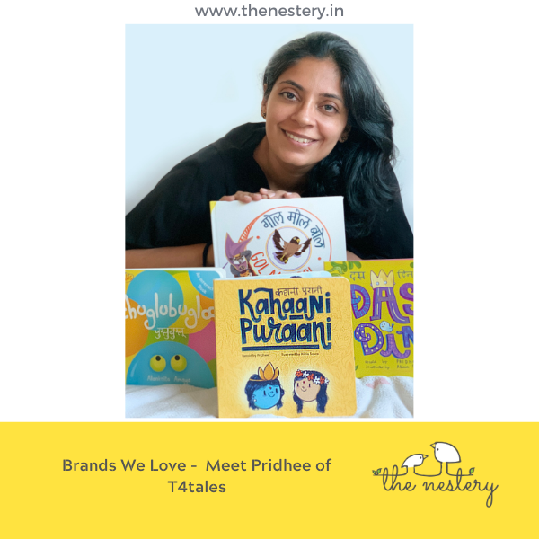 "In Conversation with the Brands We Love - Meet Pridhee of ""T4tales"""