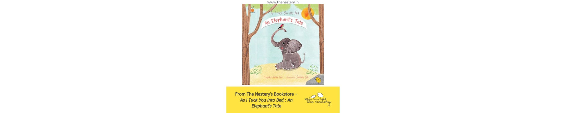 Book Review - As I Tuck You Into Bed : An Elephant's Tale