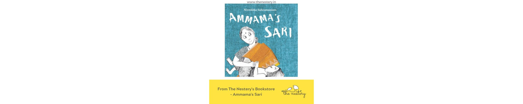 Book Review - Ammama's Sari