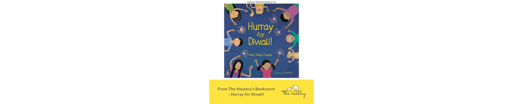 Book Review - Hurray for Diwali!