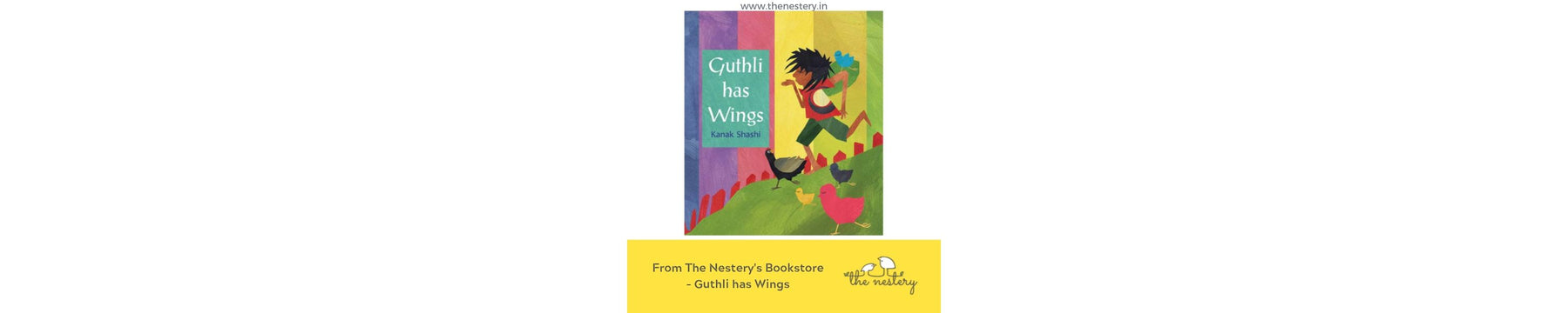 Book Review - Guthli has Wings