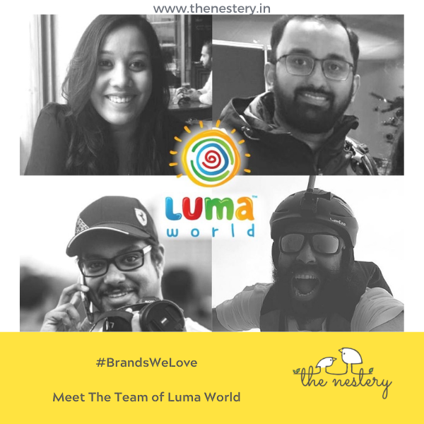 "In Conversation with the Brands We Love -  Meet The Team of ""Luma World"""