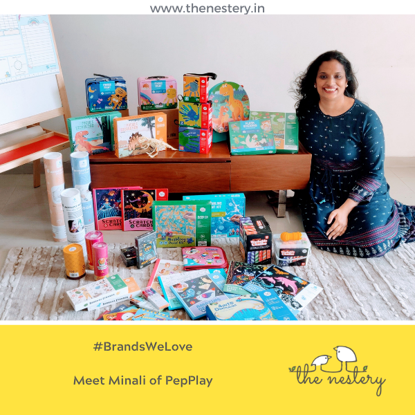 "In Conversation with the Brands We Love -  Meet Minali of ""PepPlay"""