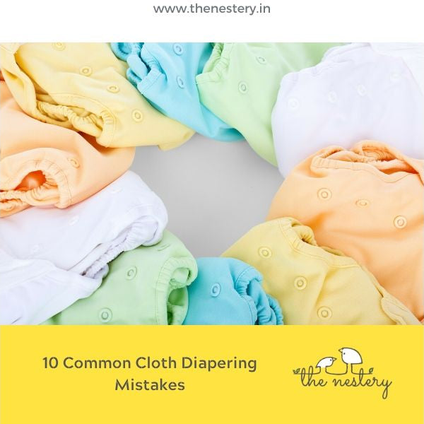 10 Common Cloth Diapering Mistakes