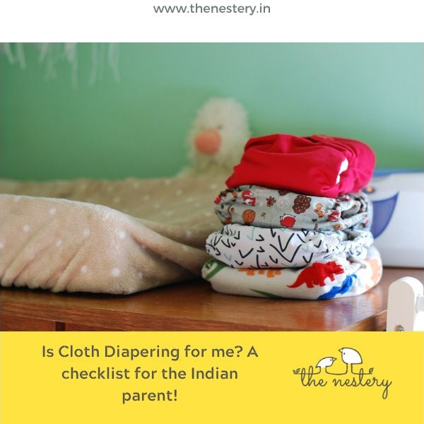 Is cloth diapering for me? A checklist for the Indian parent