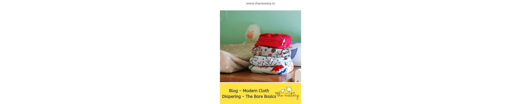 Modern Cloth Diapering - The Bare Basics