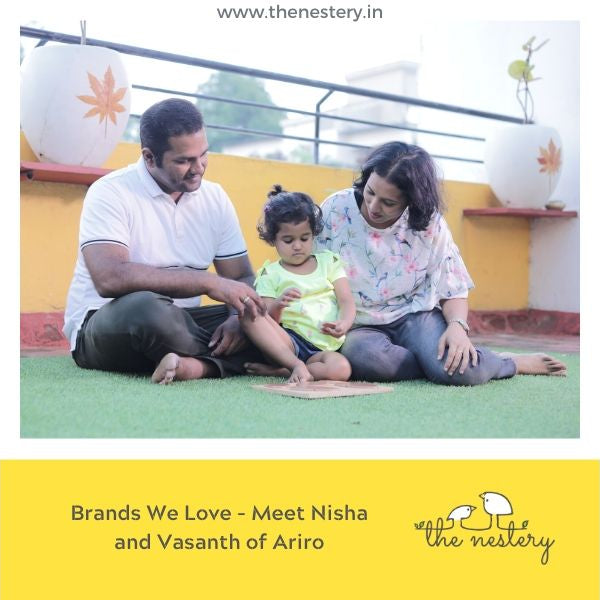 Brands We Love - Meet Nisha and Vasanth of Ariro