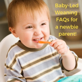 Baby-Led Weaning - FAQs and Troubleshooting for the Care-Giver