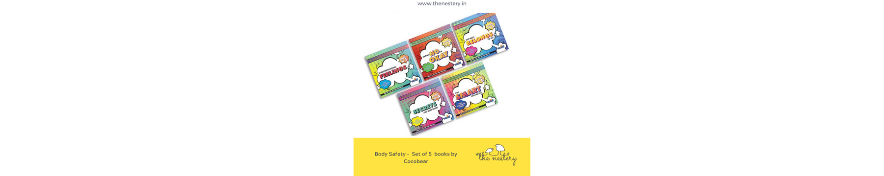 BOOK REVIEW – KEEP YOUR CHILD SAFE – BODY SAFETY BOOK SET BY COCOBEAR