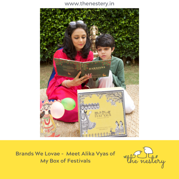 "In Conversation with the Brands We Love - Meet Alika Vyas of ""My Box of Festivals"""