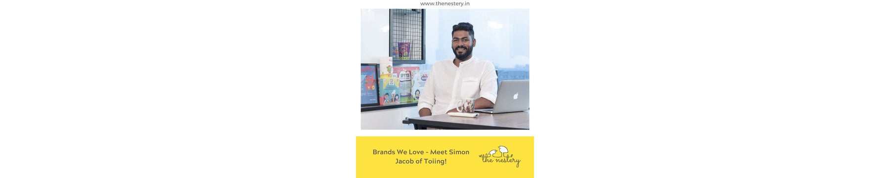 Brands We Love - Meet Simon Jacob of Toiing!