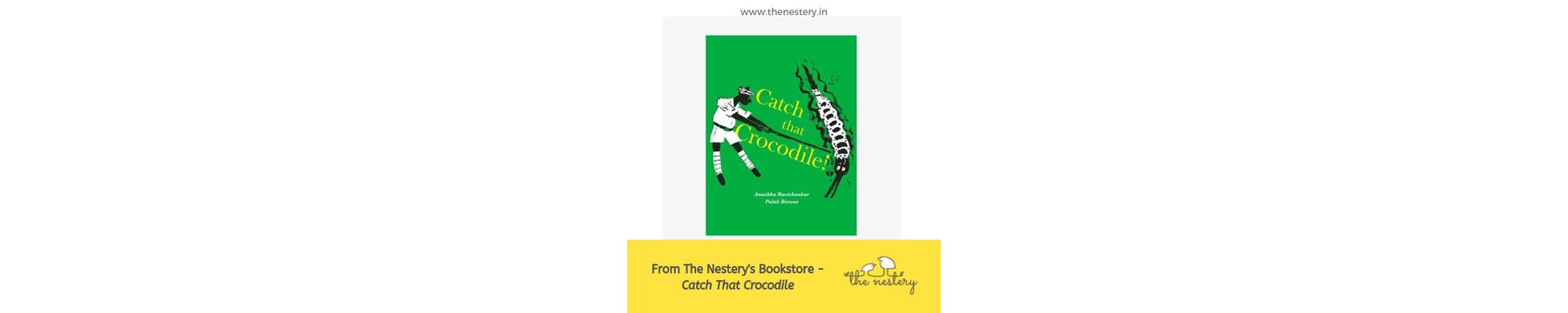 Book Review - Catch That Crocodile!