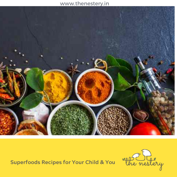 Superfoods Recipes for Your Child & You